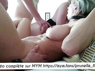 Prunelle Fitgirl - Une orgie amateur avec Jade Latour anal blonde